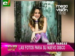 Cantante Adry Vargas lanzará CD promocional