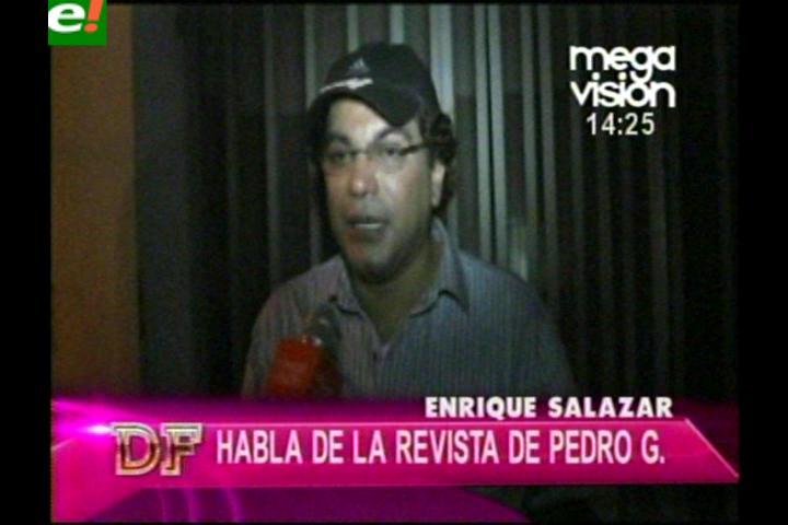Qué opina Enrique Salazar de Pedro García
