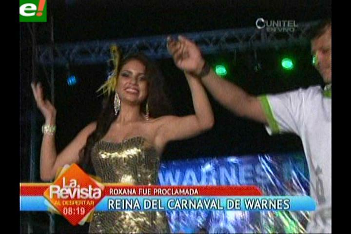 Warnes proclama a su Reina del Carnaval 2014