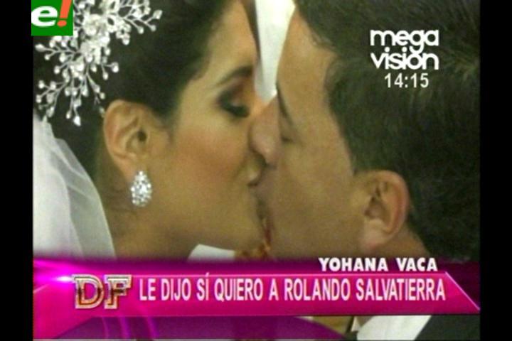 La romántica boda de Yohana Vaca y Roly Salvatierra