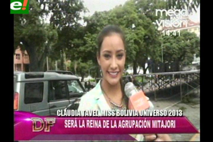 Claudia Tavel reina de los Mita Hori