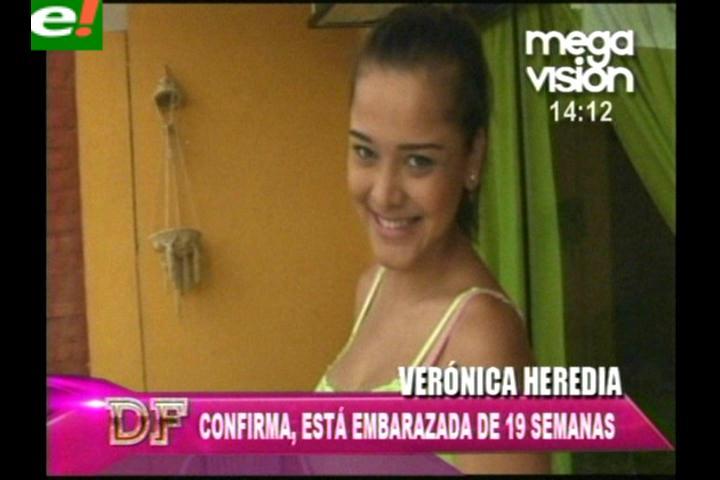 Verónica Heredia confirma su embarazo