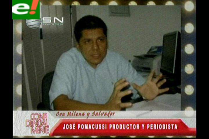 José Pomacusi trabaja en su primer libro