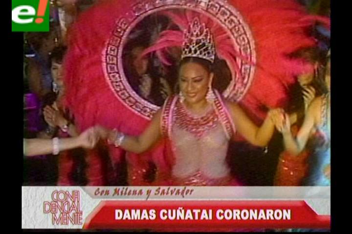 Las Damas Cuñataí coronaron a su reina