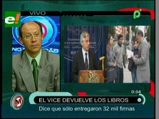 """""""El Vicepresidente desmerece el trabajo de los periodistas y de miles de ciudadanos"""""""