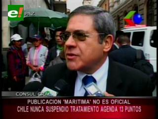 """Cónsul General de Chile: """"Publicación de prensa no es oficial"""""""