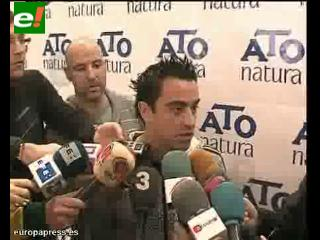 Xavi Hernández, en su mejor momento