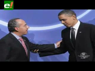 Calderón pide a Obama discutir tema de Wikileaks