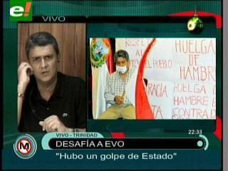 Ernesto Suárez: «El Presidente se hizo la burla de la democracia y del voto de los tarijeños»