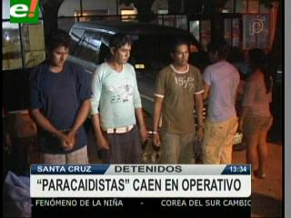 FELCC detiene a 5 delincuentes que atracaban en la carretera a la Chiquitania