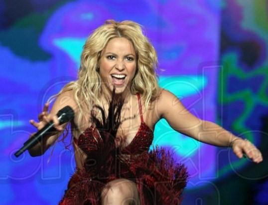 Shakira estremeció China con su concierto en año nuevo