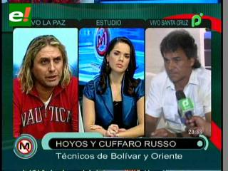 Hoyos y Cuffaro, los nuevos Técnicos de Bolívar y Oriente