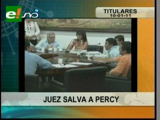 """Juez prescribe juicio de la empresa """"Silver Clean"""" contra Percy Fernández"""
