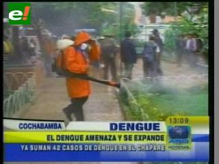 El dengue amenaza y se expande en el Trópico de Cochabamba