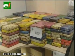 Policía española desmanteló el mayor laboratorio de cocaína de Europa