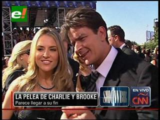 Charlie Sheen y Brooke Mueller podrían reconciliarse