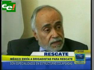 Suma la ayuda internacional, México envía 12 brigadistas de rescate