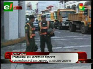 Rescatistas encuentran a la décima víctima del Málaga