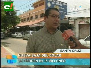 Gary Rodríguez: «Se pierden 15 millones de Bs por cada punto que baje del dólar»