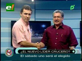Vaca Díez y Castedo calientan el debate sobre la Presidencia al Comité Cívico Pro Santa Cruz