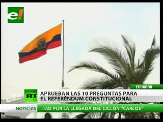 Corte Constitucional de Ecuador da paso a reforma judicial