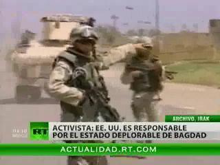 Irak exige una compensación a EEUU por haber destruido Bagdad