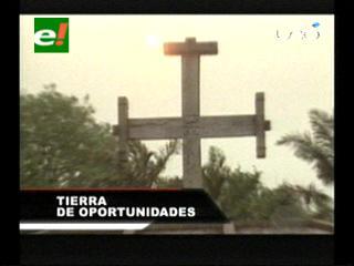 Comenzaron los festejos en homenaje a la fundación de Santa Cruz, Evo y Costas estuvieron en San José de Chiquitos