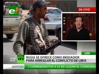 Rusia no se sumará a la operación militar en Libia