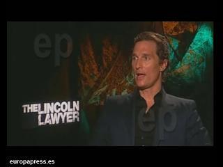 """Matthew McConaughey no quiere """"hijos basura"""""""