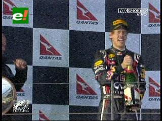 F1: Vettel ganó el GP de Australia