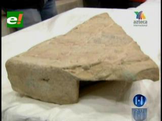 Muestran una estela maya para desmentir la predicción del fin del mundo