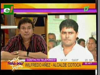 Tani Araúz responde a denuncias y acusa al Alcalde de Cotoca de estar detrás de los bloqueos
