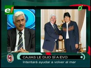 Fernando Cajías es invitado por Evo Morales para encontrar una solución a la demanda marítima