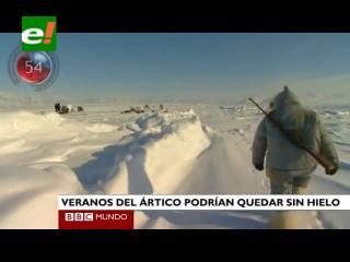 Nueva alerta sobre el deshielo del Ártico