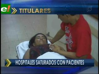 Dengue colapsa las salas de emergencia en los hospitales de Santa Cruz