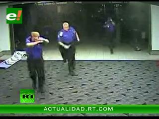 Video dramático: Momento exacto en que un tornado arrasa el aeropuerto de San Luis en EEUU