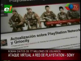 Roban datos de 75 millones de usuarios de PlayStation