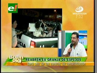 Gobernación de Santa Cruz alista la reapertura de la ex Granja de Espejos