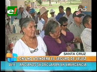 CNS no atenderá el seguro de vejez, ancianos se declaran en emergencia