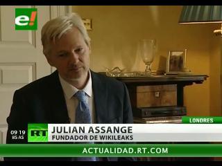 "Assange: ""Las revelaciones de WikiLeaks son solo la punta del iceberg"""