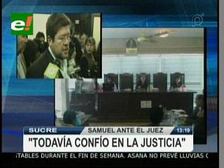 En medio de incidentes con la prensa se lleva a cabo la audiencia cautelar contra de Samuel Doria Medina