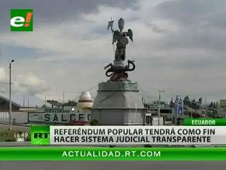 Finaliza la campaña electoral con miras al referéndum, en Ecuador