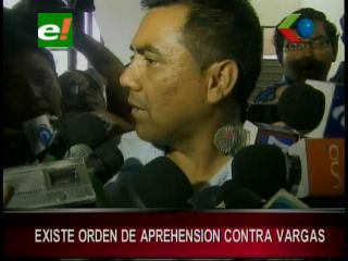 Contradicciones entre la Fiscalía y la Policía por la orden de aprehensión contra Alcides Vargas