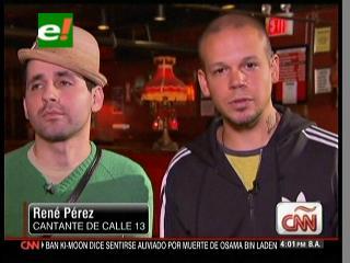 Calle 13: «Ya mataron a Bin Laden ahora falta condenar a Bush»