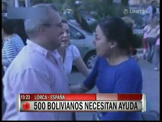 Unos 500 bolivianos necesitan ayuda debido al sismo en Lorca – España