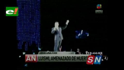 Luis Miguel, amenazado de muerte por una fans