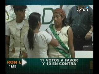 El MAS ganó la pulseta a Verdes, posesionaron a la asambleísta Rosmery Gutiérrez