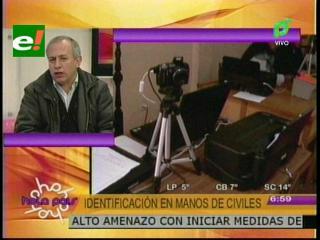 Antonio Costas:»El documento único de identidad reemplazará gradualmente a la cédula»