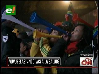 Vuvuzelas: ¿Nocivas para la salud?