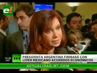 Inversiones y nanotecnología: Ejes de reunión entre los presidentes de Argentina y México